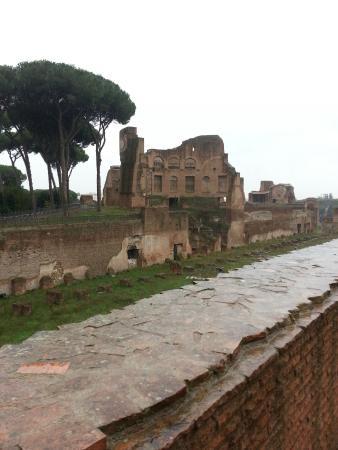 House of Augustus : Monte Palatino
