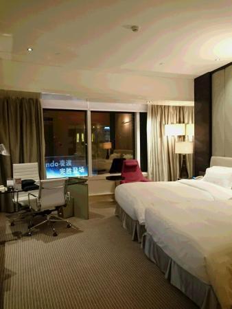 ホテル・ニッコー上海, 部屋からの眺めもなかなかです