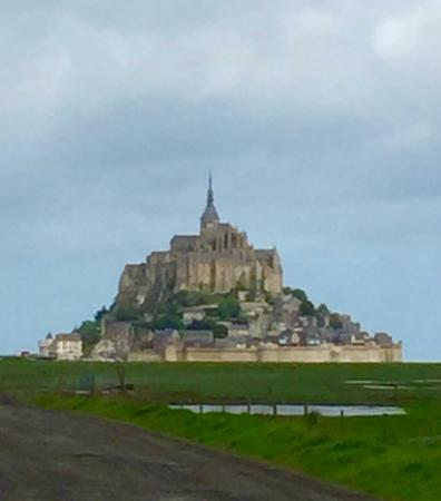 Experience Normandy Tours : Eva knows Mont St. Michel best of all.