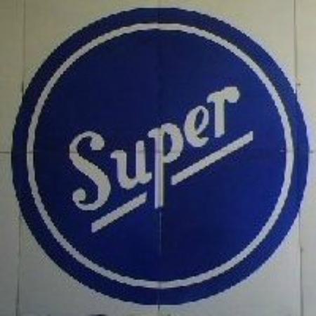 Lambertville, Nueva Jersey: SUPER sign - ACME lobby