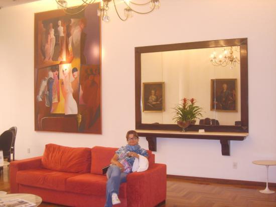Plaza Porto Alegre Hotel : Hall da Recepção