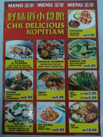CHK Delicious Kopitiam