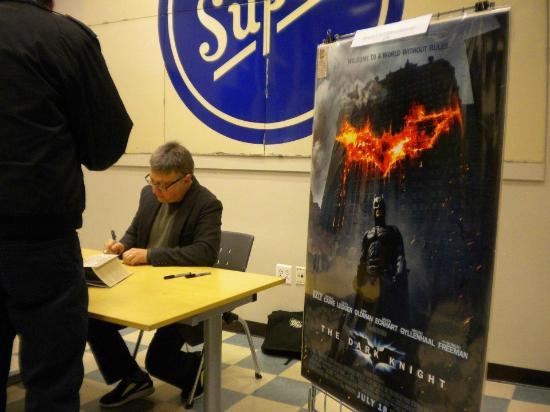 แลมเบิร์ตวิลล์, นิวเจอร์ซีย์: Batman movie creator-Producer Michael Uslan at ACME