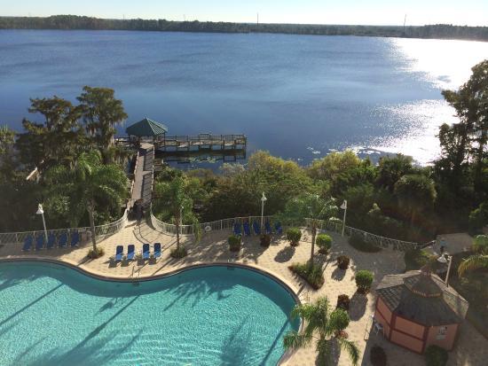 Blue Heron Beach Resort Vista Da Piscina Varando Do Apartamento