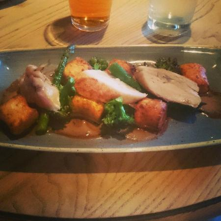 The Alice Hawthorn: Chicken with gnocchi