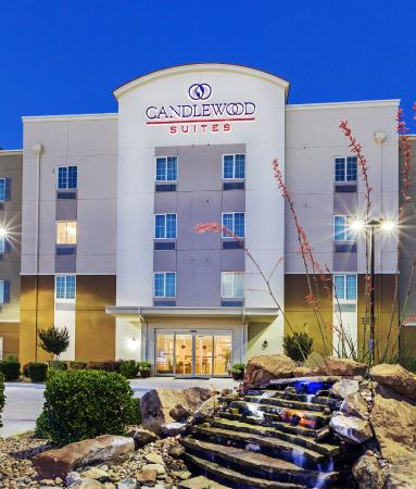Candlewood Suites Ardmore: Front View of the Candlewood Suites of Ardmore