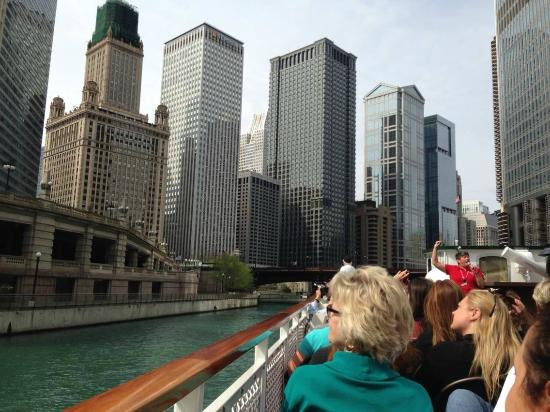 Chicago Travel & Tours: Passeio de barco First Lady
