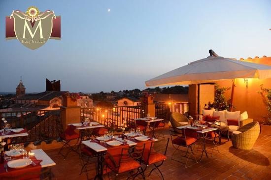 La nostra Terrazza panoramica su Roma - Foto di La Meridiana ...