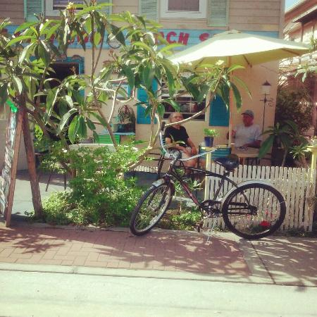 Salty Dog Lunch Spot: Morning on the patio
