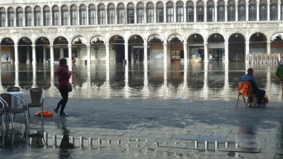 Hotel Bella Venezia: PLACE SAN MARCO DANS L'EAU