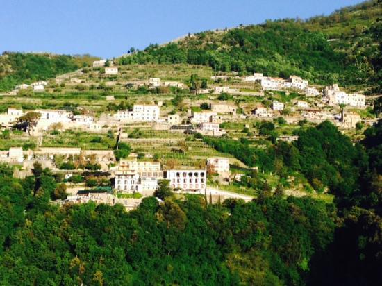 View from Terrace where we had breakfast at Il Ducato Di Ravello