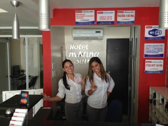 Hotel Marina Suites : Reception