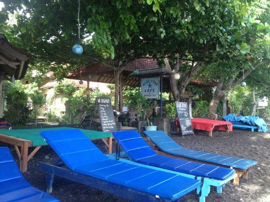 Blue Star Bungalows & Restaurant: Nice spot to relax