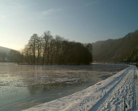 L'Auberge de Bouvignes: Winter