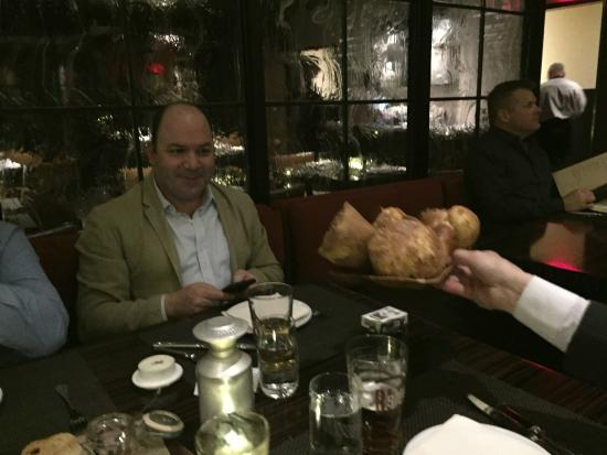 Bally's Steakhouse : Ecco il famoso pane