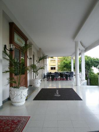 Hotel Savoia Palace : Hall e ingresso Hotel.