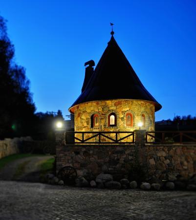 Poddub, Czech Republic: tower night