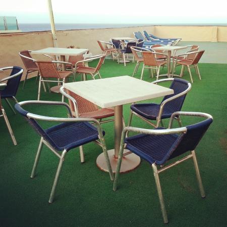 Astra Hotel: Die Sonnenterasse
