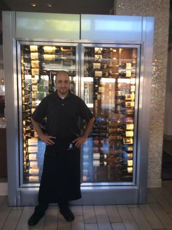 Kaiser Grille Palm Springs : Carlos -best server ever :)