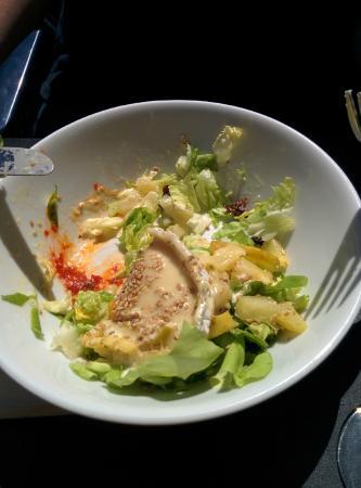 Salade gripsou foto de le doux delire bruxelas for Ver mangeur de salade