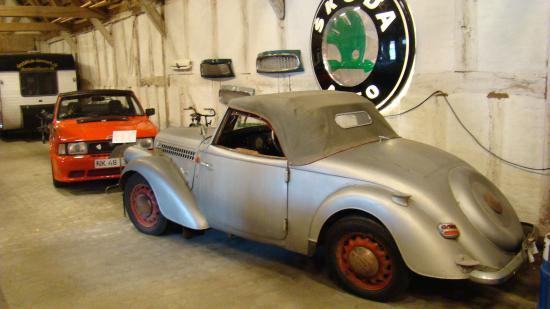 Glamsbjerg, Danemark: 1938 Škoda Popular