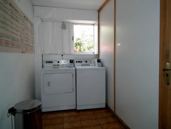 Washer/Dryer (Reception area) - Picture of Jardin del Sol ...