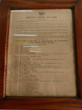 Old Government House Museum: exhibit on display in museum