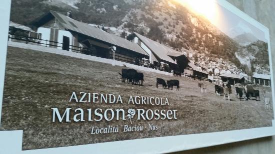 Tagliere formaggi tipici bild von maison rosset nus for Agriturismo maison rosset