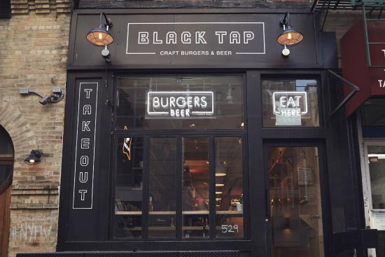 Photo of American Restaurant Black Tap at 529 Broome St, New York City, NY 10013, United States