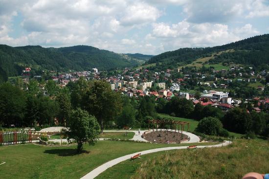 Muszyna, Pologne : widok