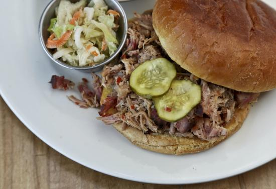 Jim N' Nicks Bar-B-Q : Carolina Style Pork Sandwich