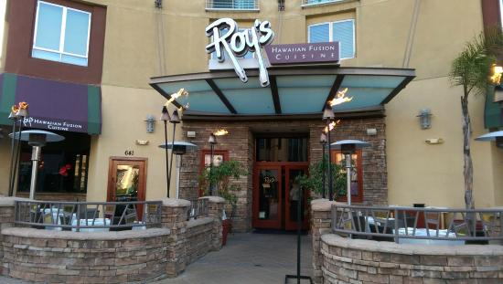 Roy's Pasadena : Exterior, drive by, first time dining