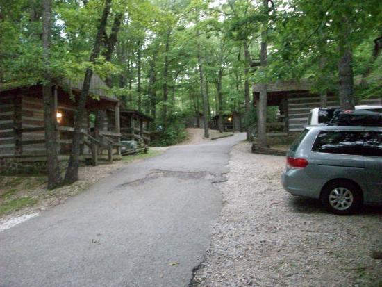 Silver Dollar Cityu0027s Wilderness: Cabin Grounds