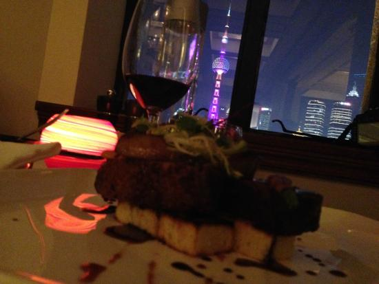 The Cathay Room : The view was just amazing