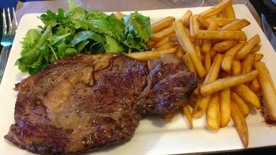 Le Cap Coz : Entrecôte Frite