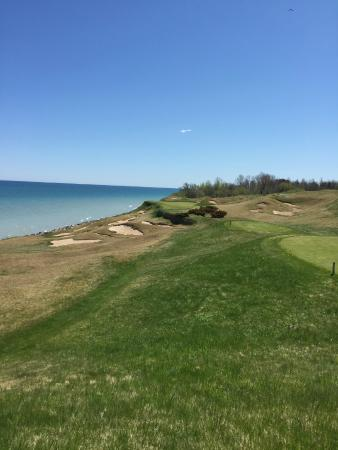 Whistling Straits Golf Course And Irish Number 17