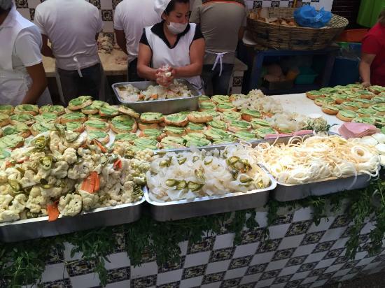 cemitas del Carmen, para conocer Puebla con mil pesos