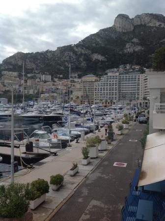 Le Quai Des Princes: View from balcony