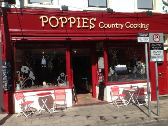 Poppies Cafe Enniskerry Menu