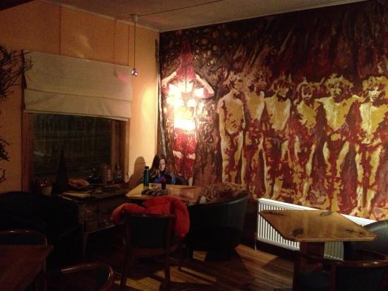 Hotel Hain : Perfecto espacio para leer tomando un té