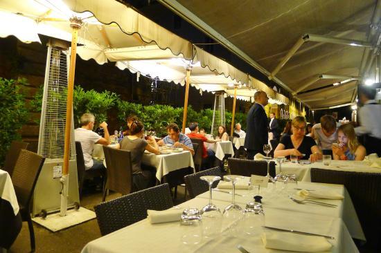 the terrace photo de ristorante il piccolo mondo rome