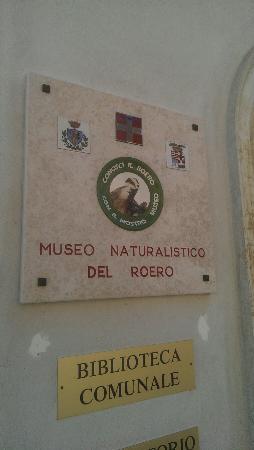 Vezza d'Alba, Itália: Museo Naturalistico Del Roero