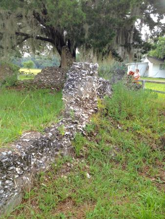 Sapelo Island National Estuarine Research Reserve: Tabby ruins of 1809 sugar mill