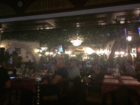 Delicious food and wonderful view picture of reem al for Al bawadi mediterranean cuisine