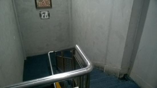 Eva Inn: scale per la sala colazioni