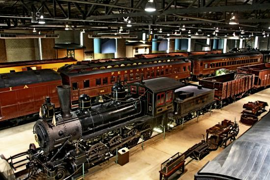 Image result for railroad museum of pennsylvania