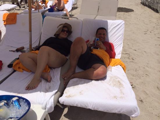 Praia privativa do Shore Club, muito conforto, atendimento muito bom!!