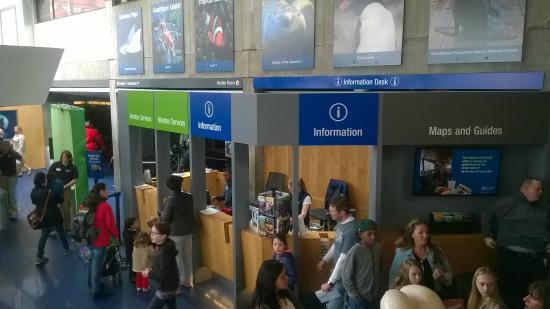 Entrance picture of new england aquarium boston New england aquarium tickets