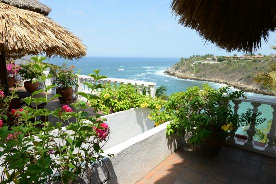 Villas Carrizalillo: view from the villas
