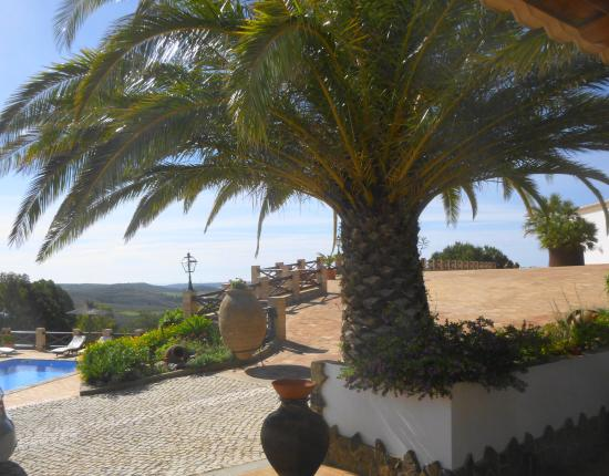 Bensafrim, Portugal: View from our door at Monte da Bravura